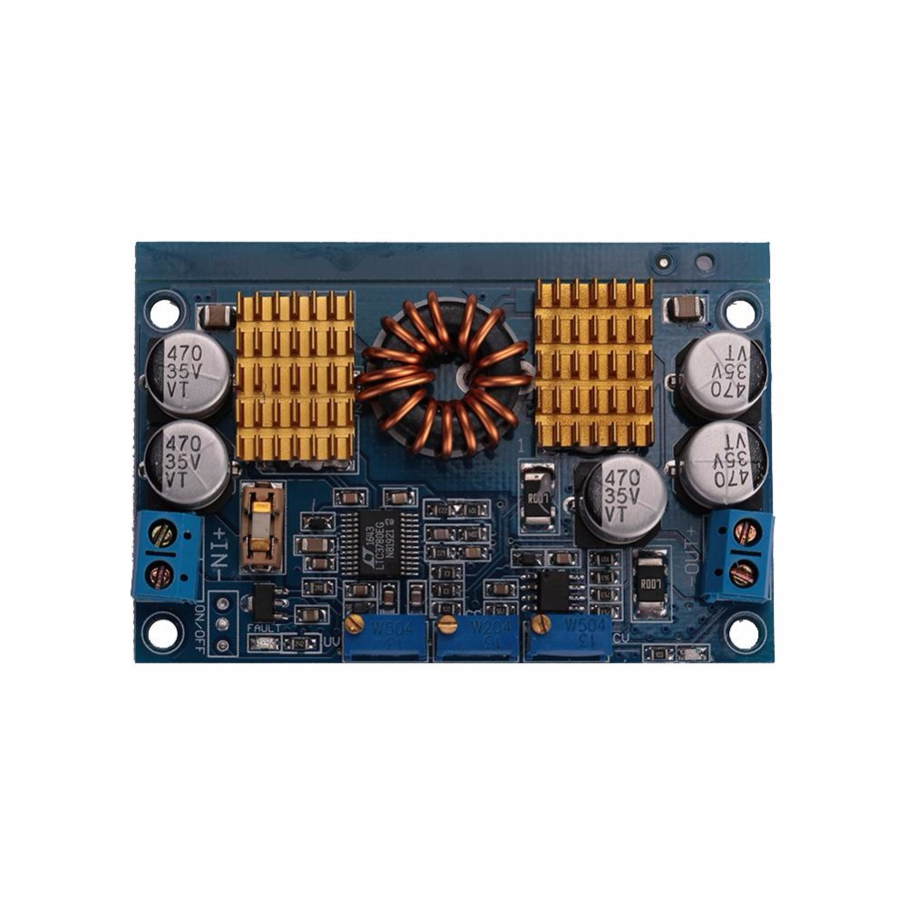 Cewaal DC5-32V For LTC3780 Automatic Step Up Down Buck Boost Constant Voltage Module Slim Professional Development Board Parts dc dc automatic step up down boost buck converter module 5 32v to 1 25 20v 5a continuous adjustable output voltage