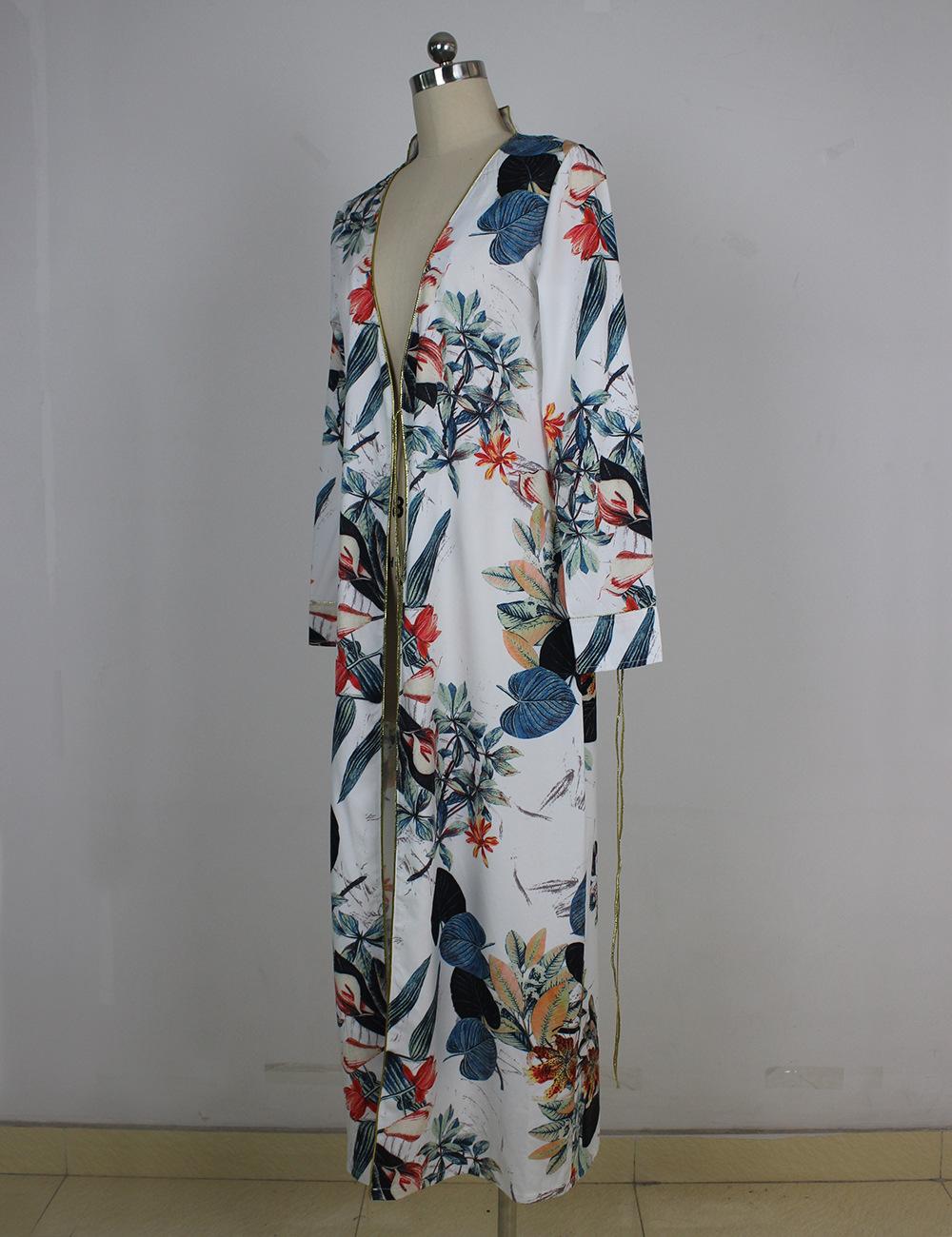 HTB1vH0YQXXXXXX5XVXXq6xXFXXXI - Long Sleeve Ethnic Floral Print White Shirt Women Kimono Blusas