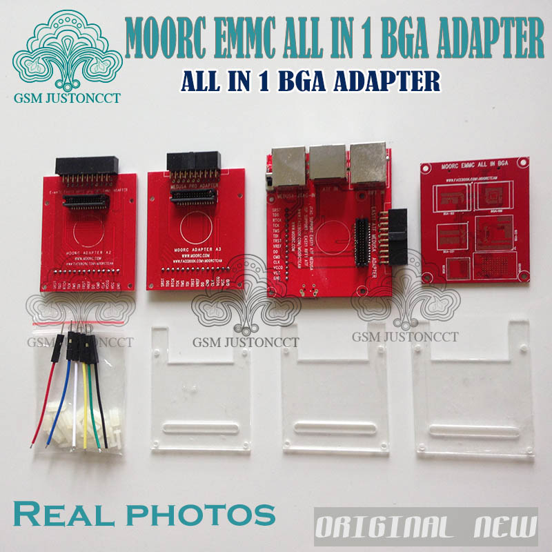 no Welding Bga169e Bga162 Bga221 Support Easyjtag Plus Atf Gpg Emmc Box Carefully Selected Materials Reasonable New E-mate Box Emate Box E-socket 6 In 1 +1 Pcs Cable