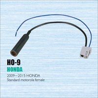 Car Radio Antenna Adapter Cable Wire For Honda 2009 2015 Aftermarket Stereo CD DVD GPS Installation