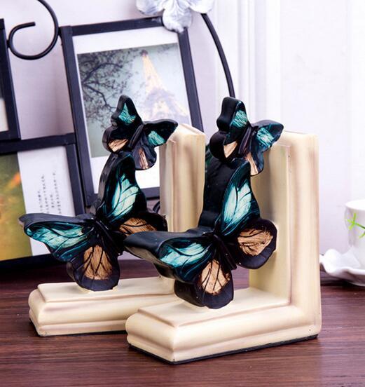Porte-livre papillon de style chinois   Bibliothèque créative détude, pour bureau maison, produits de décoration douce, fabricants, vente directe