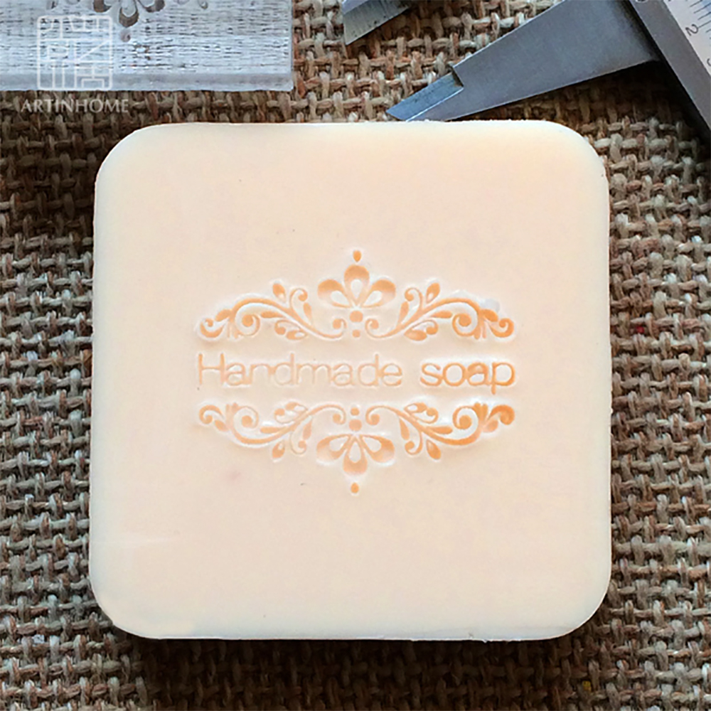Acrylic Soap Seal Stamp For Natural Handmade