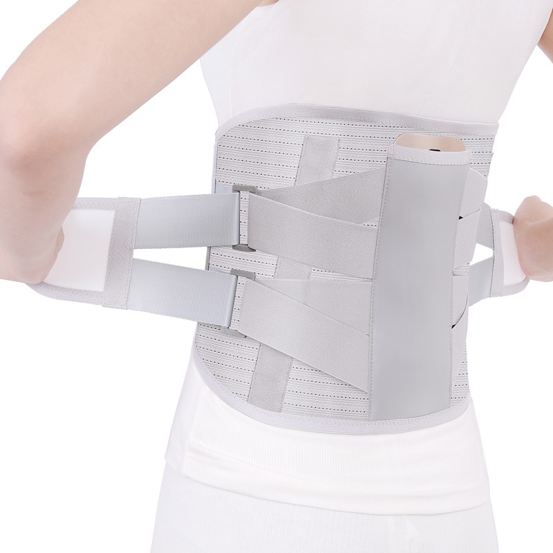 Promotion Sport Accessories Back Support Brace Belt Lumbar Lower Waist Double Adjust Back Pain Relief Waist Support 2019