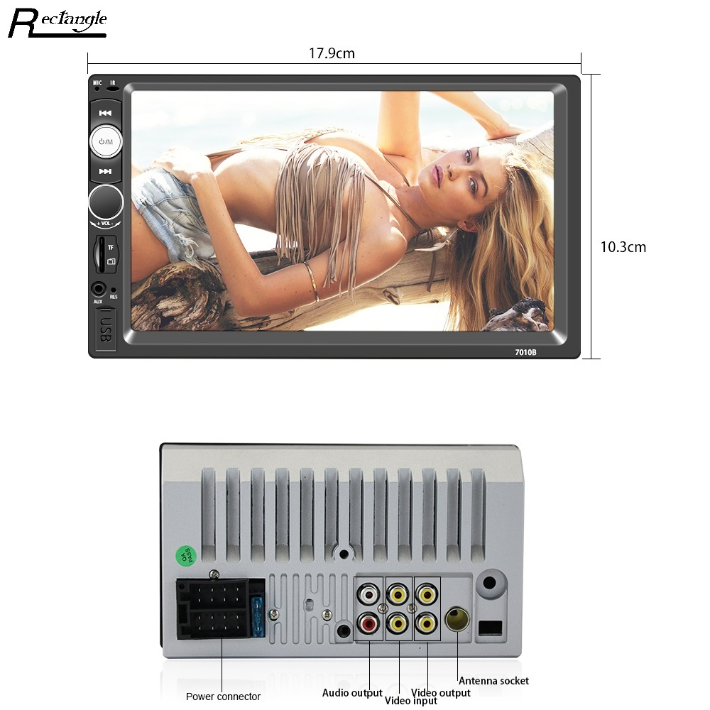 Universal 7010B 7inch Car MP5 Player 2Din Touch Screen Car Video Player Audio Stereo Multimedia FM
