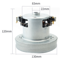 220V 2000W Universal Vacuum Cleaner Motor 130mm Diameter Large Power Industry Vacuum Cleaner Parts Replacement