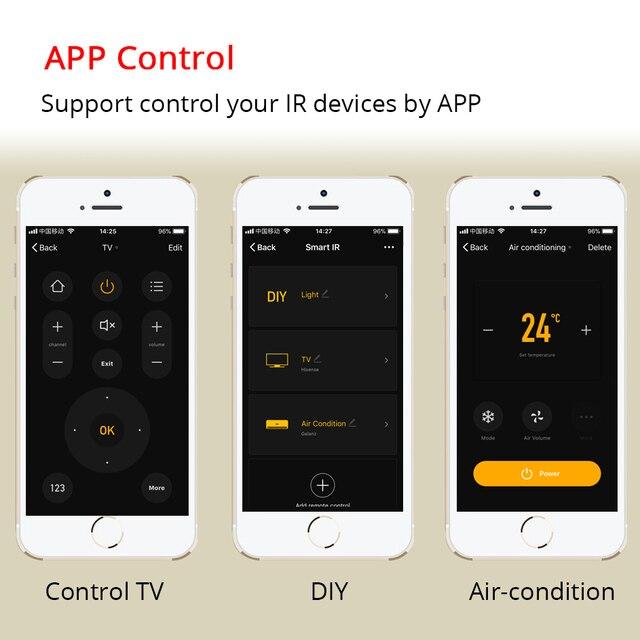 Zemismart-IR-puente-aire-ventilador-TV-para-vida-inteligente-App-de-Google-Alexa-eco-Control-remoto