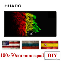 Rubber Mouse Pad XXL Mousepad Desk Carpet 100X50cm Large Gamepad Mats For Csgo World Of Warcraft