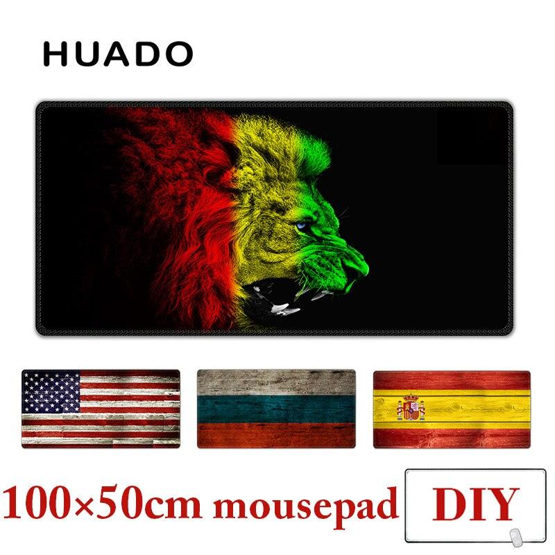 Rato de borracha Pad XXL mousepad tapetes de mesa tapete 100X50 cm grande gamepad para csgo/world of warcraft/steelseries/starcraft/overwatch