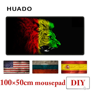 Image 1 - Rubber Mouse Pad XXL mousepad desk carpet 100X50cm large gamepad mats for csgo/world of warcraft/steelseries/starcraft/overwatch