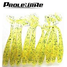 10 Pcs/pack 0.7g 5cm for Fishing Worm Swimbait Jig Head Soft Lure Fly Fishing Bait Fishing Lure YR-200