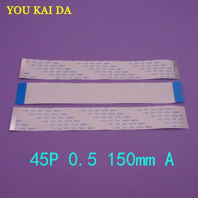 סוג 15 cm 150mm FFC FPC 45pin 0.5 pitch סרט שטוח פלקס כבל 45 סיכות 20624 AWM 80C VW-1 60 V כוח כפתור