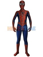 2017 Raimi Spiderman Costume 3D Printed Kids Adult Lycra Spandex Spider Man Costume For Halloween Fullbody