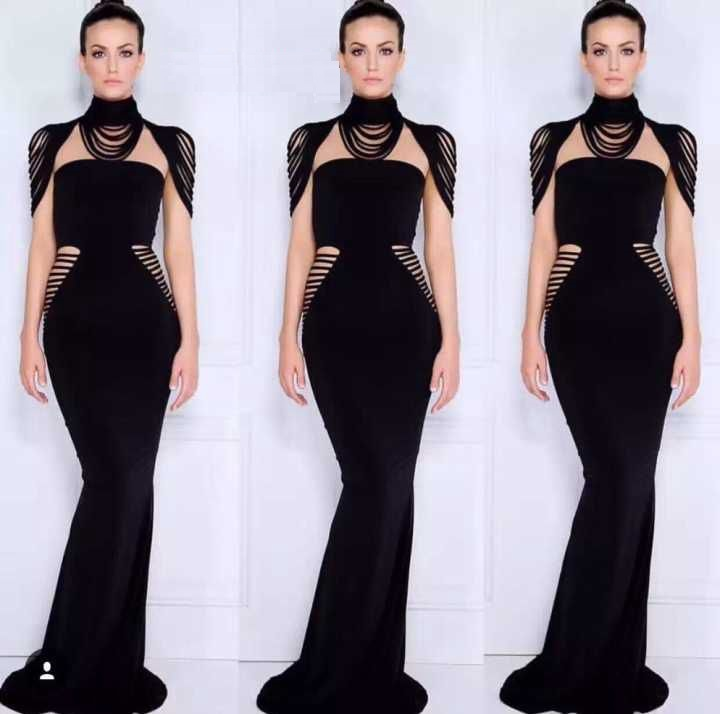 2017 sexy bodycon Women Celebrity tassel Black Rayon gown Long Bandage Dress Noble Celebrity Party Dresses robe de soiree