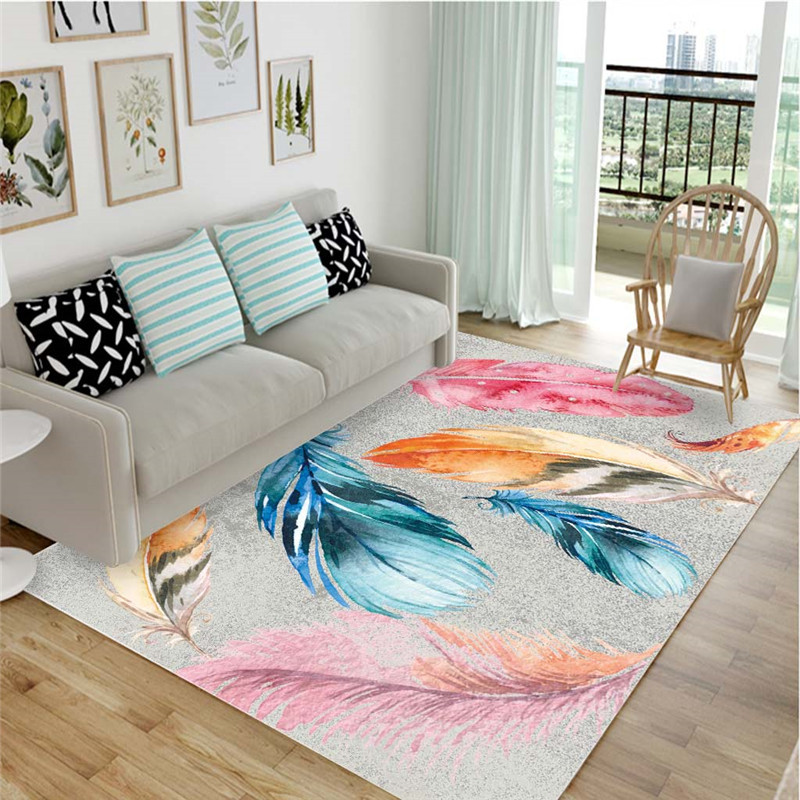 <font><b>3D</b></font> Printed Large Size Carpet Soft Flannel Parlor Area Rugs Nordic Bedroom Carpets for Living Room Home Decor Rug <font><b>tapetes</b></font> tapis image