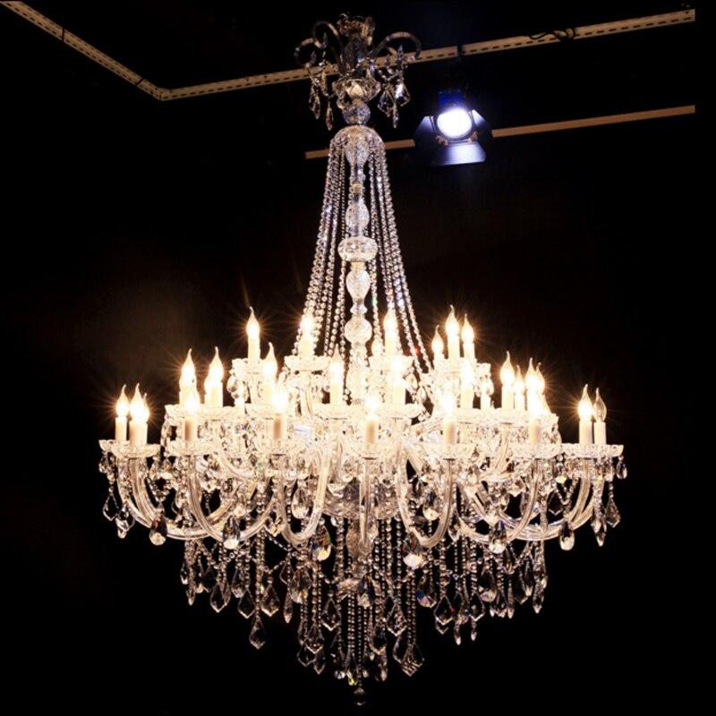 Dupleks vile v evropskem stilu K9 lestenec s svečami Luksuzni - Notranja razsvetljava - Fotografija 3
