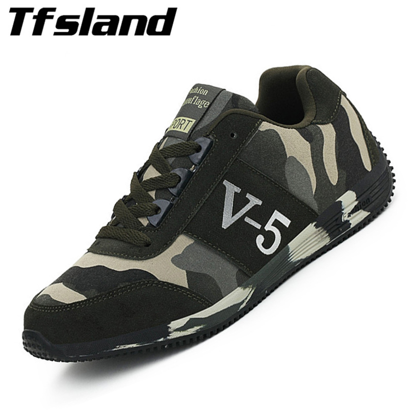 Men Women Soft New Outdoor Camouflage Shoes Combat Military Training Shoes Wedges Running Shoes Lovers Sports Shoes Sneakers