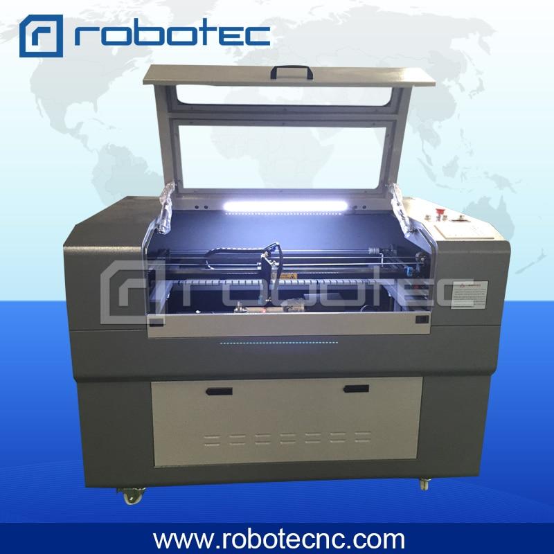 bästsäljande 80w CO2-skärmaskin 9060 för skärning av plywood akryl