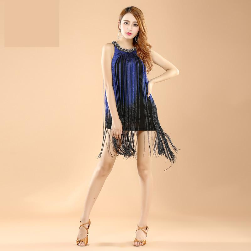 High Quality Sexy Tassel Latin Dance Dress Women/girls/lady Fringe Latin Salsa/ballroom/tango/ Dance Costumes For Women On Sale