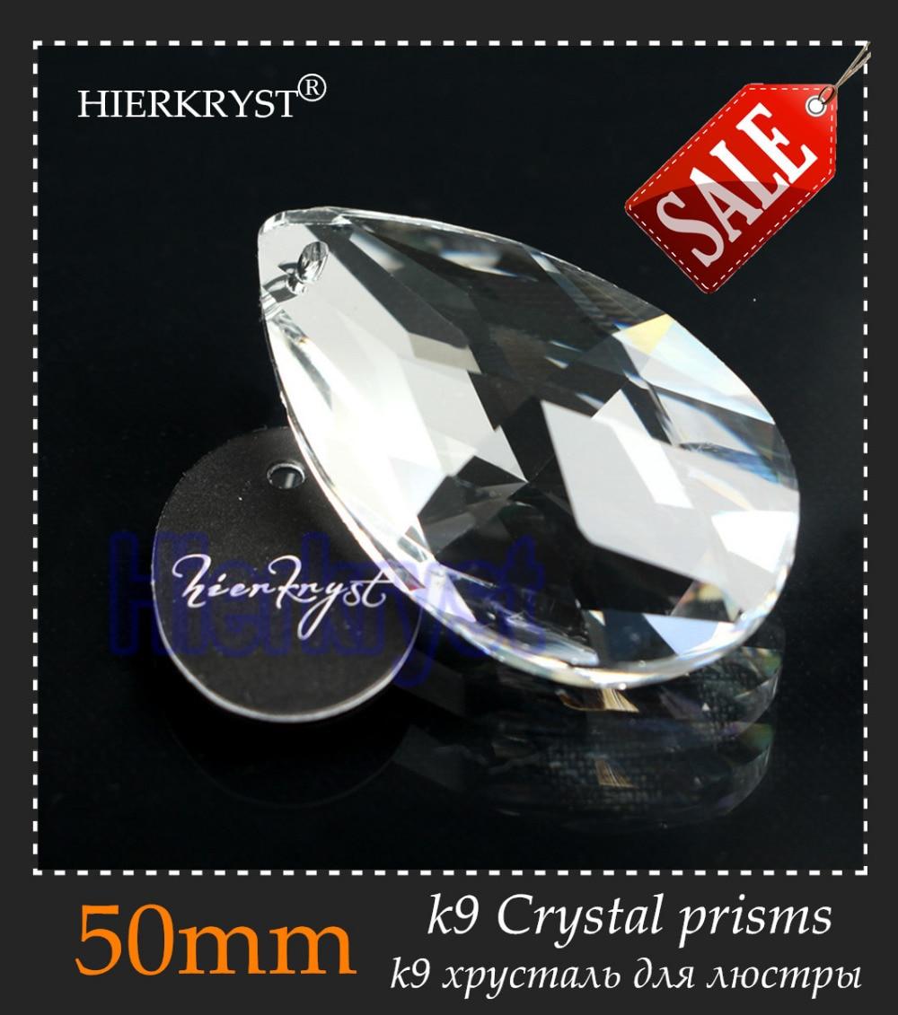 38MM Pendants Clear Glass Crystals 50 PCS Chandelier Lamp Lighting Part Prisms