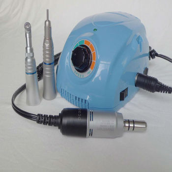 35000 RPM Marathon3 Champion Micromotor with Contra and straight angle hand piece for jewelery dental nail polishing