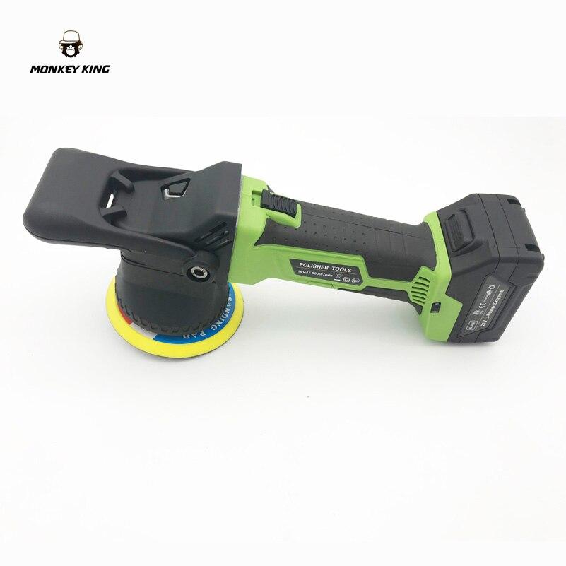 9 мм нить эксцентричный аккумуляторная батарея работает двойного действия автомобиля да шлифовальный прибор буфер Авто полировальная маши