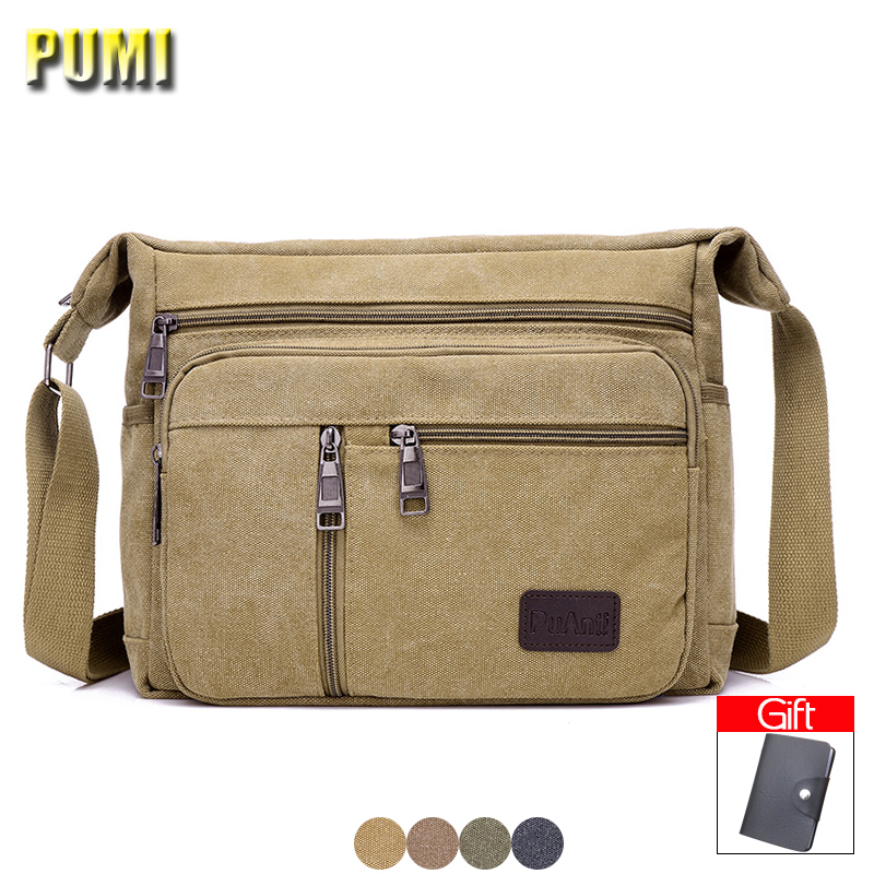 Vintage Men Canvas Messenger Bags Casual Crossbody Bag for Boy Shoulder Bag Big Small Size High Quality Male Business Travel Bag canvas leather crossbody bag men military army vintage messenger bags shoulder bag casual travel bags