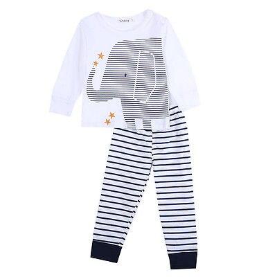 f09ebc16e 2pcs Toddler Baby Boy Clothes Elegant Top Shorts Set Fashion Infant ...