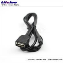 Liislee Original Plugs To USB Adapter Connector For Nissan Teana Car CD Radio Audio Media Cable Wire