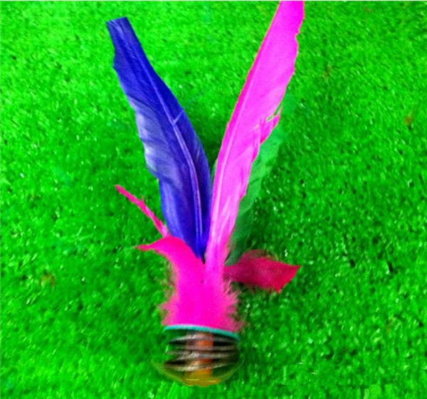 320pcs Kick Feather Shuttlecocks Badminton Original China Jianzi Shuttlecock DHL Freeshipping