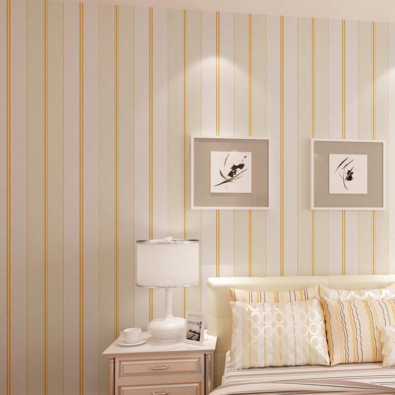 Simple Modern Vertical Stripes Wall Paper Home Decor Roll 3D Non-woven Wallpaper Living Room Bedroom TV Background Wall Covering simple modern vertical stripes wall paper home decor roll 3d non woven wallpaper living room bedroom tv background wall covering