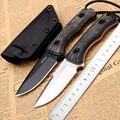 Острый нож ручной работы D2 стальной охотничий нож Походный нож для выживания с фиксированным лезвием тактический нож льняная ручка