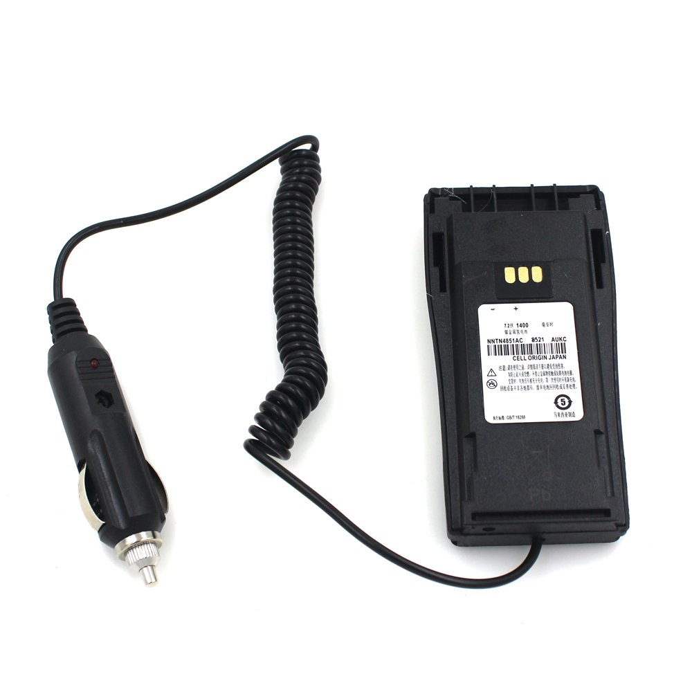 Car Radio Battery Eliminator For MOTOROLA GP3188 GP3688 CP040 EP450 Walkie Talkie / Two Way CB Ham Radio