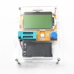 Image 3 - 2016 najnowszy LCR T4 miernik parametru esr tester próbnik elektroniczny dioda trioda pojemność Mos Mega328 tester próbnik elektroniczny + CASE (nie baterii)