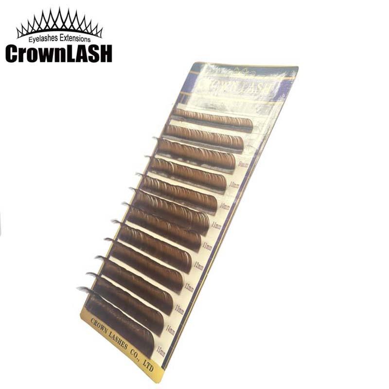 CrownLASH Καφέ Σοκολάτα B C D 0.10 7-15mm 3D - Μακιγιάζ - Φωτογραφία 3