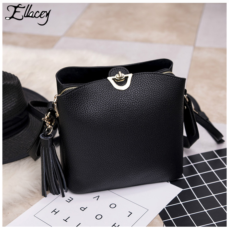 Ellacey 2017 Designer Famous Brand Women Bags Real Genuine Leather Women Messenger Bag Arrow Small Flap Crossbody Bags For Women
