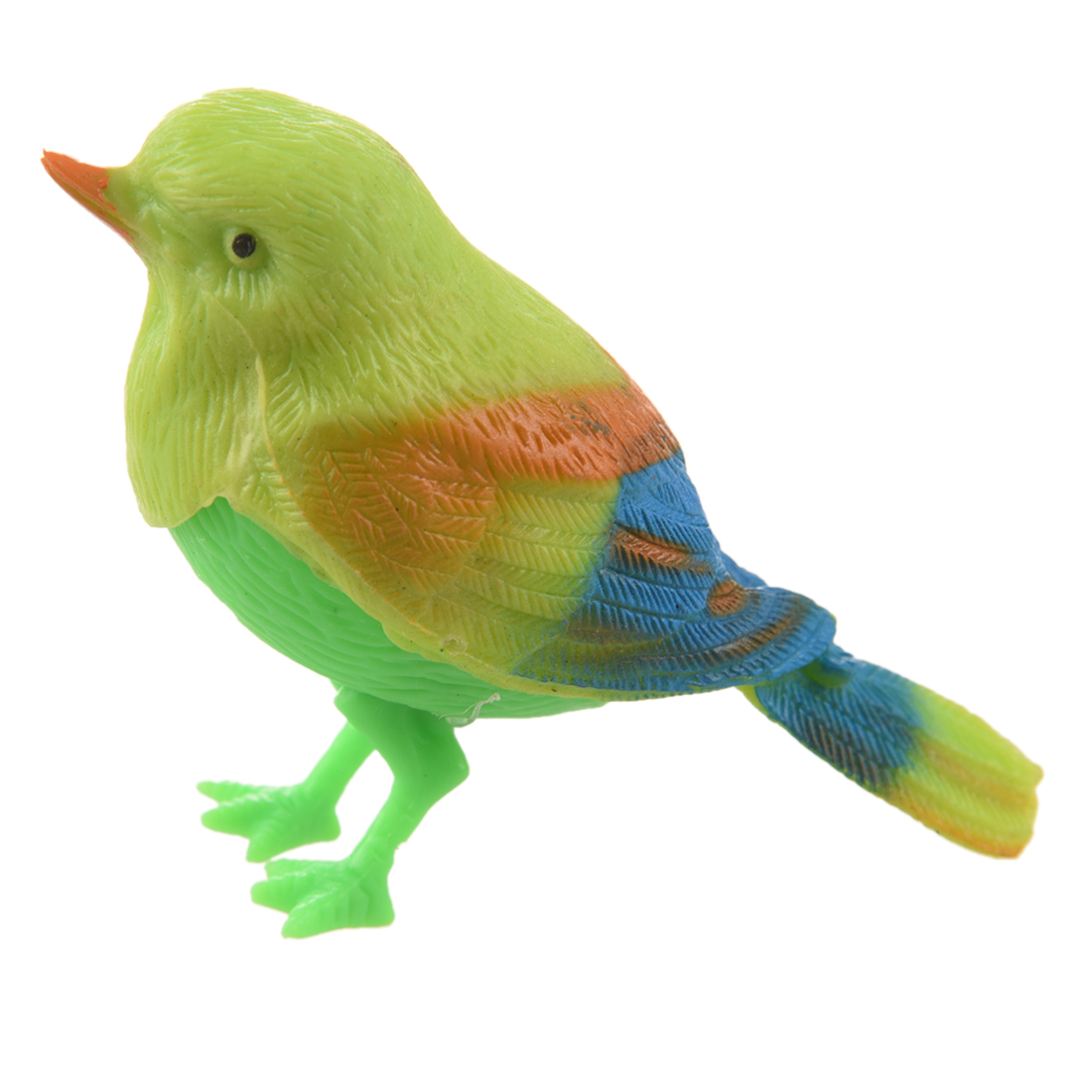 New Practical Superior Green Sound Control Beautiful Singing Bird Funny Toy