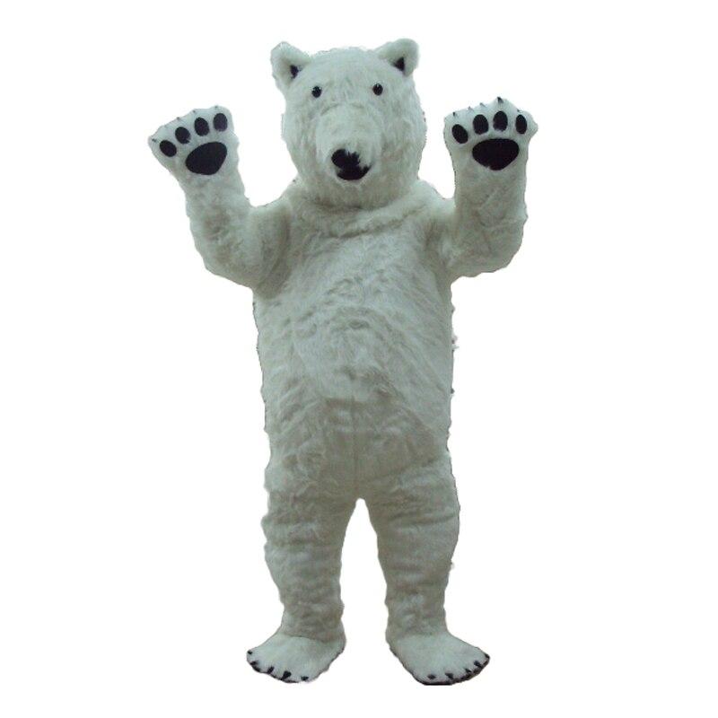 Costume de mascotte d'ours polaire adulte à vendre livraison gratuite