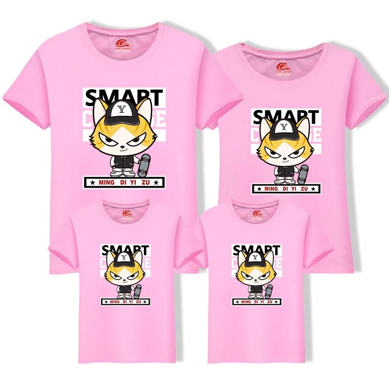 Rodzina Dopasowanie T Shirt dla Mamy Ojciec Big Brother Little Sister - Ubrania dziecięce - Zdjęcie 4