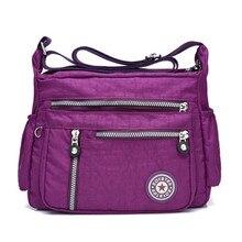 Oxford Shoulder Bag Brand High Quality Messenger Bag for Women Rural style Cloth Leisure Or Travel Bag Waterproof Nylon Package цена в Москве и Питере