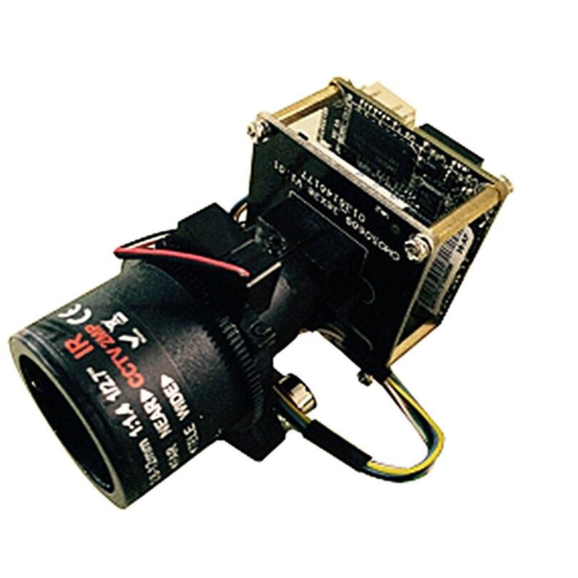 Full HD 2560*1440 4MP caméra IP en temps réel module PTZ 4X zoom objectif motorisé avec RS485 wifi étendu + fil de queue réseau + IRcut - 2