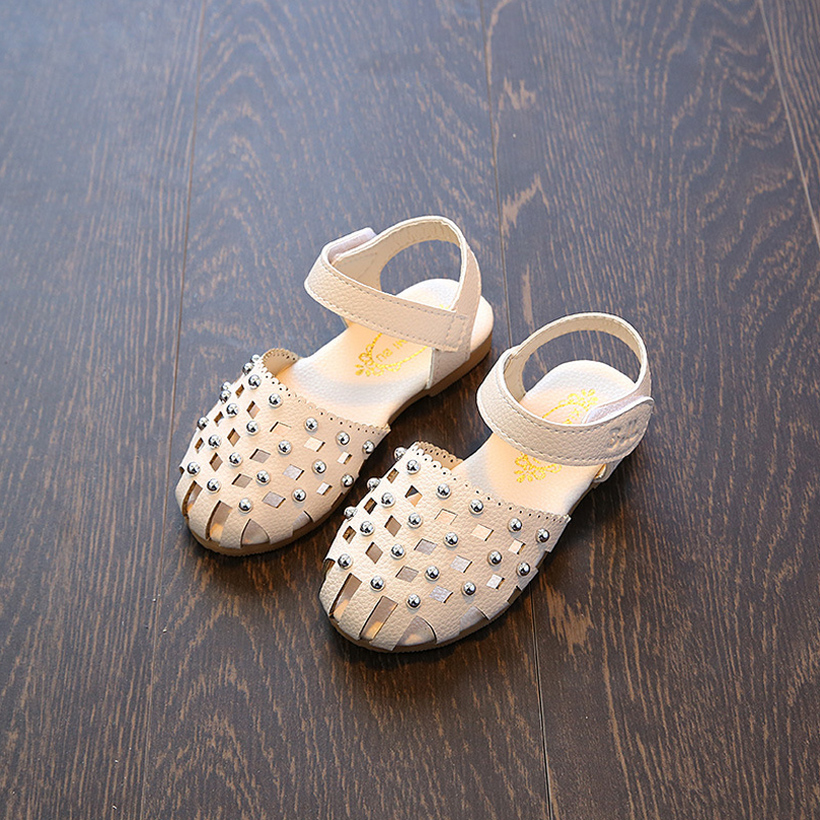 girl sandals girls shoes summer party princess wedding shoe leather toddler children kids for 2