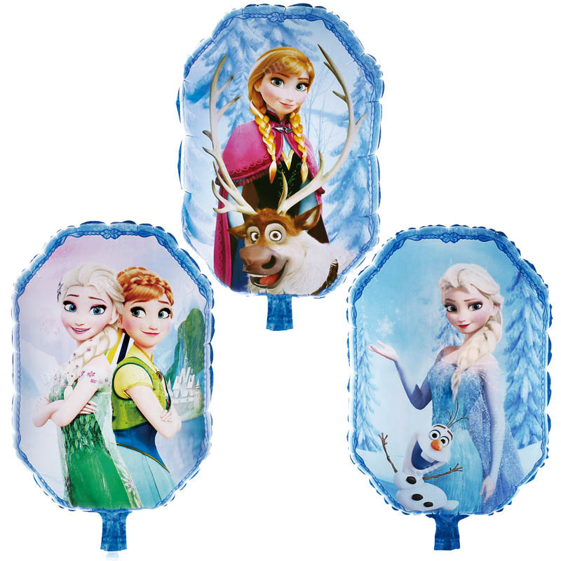 5 PCs 90*55CM Princess Helium Balloon Party Birthday Wedding Decorations