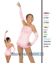 Custom Figure Skating Dresses For Women  With Spandex  Graceful New Brand Figure Skating Competition Dress Girls DR2708