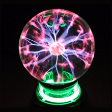 Plasma Ball Nightlight stationery Wedding 220V Magic Sphere Night Light Desktop Global Lamp Christmas Lamp Gift Party Lighting