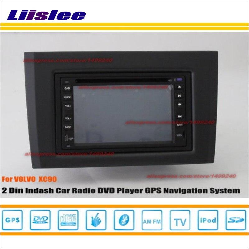 Liislee pour VOLVO XC90 XC 90 2002 ~ 2013 lecteur Radio CD DVD GPS Nav Navi système de Navigation Double Din voiture Installation Audio ensemble