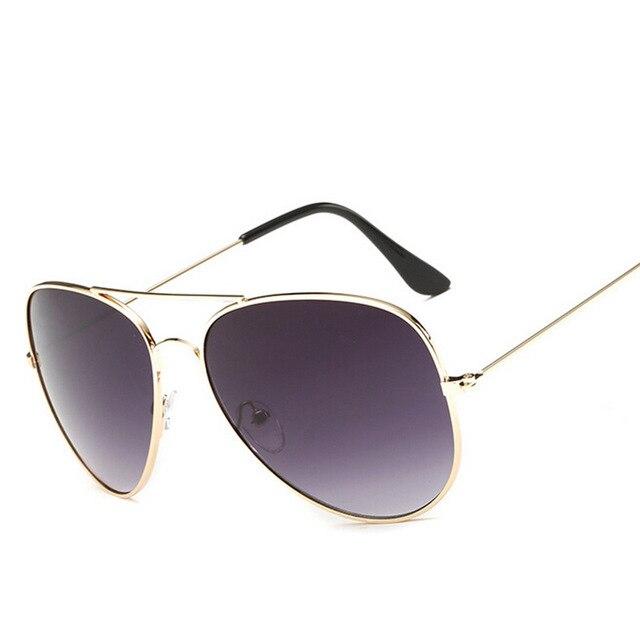 6c4dc6984f3e1 Moda Verão Fresco Multicor Cor Gradiente Aviador Óculos De Sol Dos Homens  Motorista Óculos Mulheres Oculos