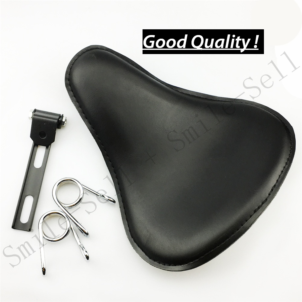 Motorcycle motorbike Spring leather solo Flame seat Bracket For Harley Sportster Chopper Bobber Suzuki Honda YamahaMotorcycle motorbike Spring leather solo Flame seat Bracket For Harley Sportster Chopper Bobber Suzuki Honda Yamaha