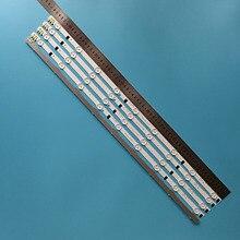 5 adet/takım LED şerit SamSung Sharp FHD 32TV D2GE 320SC1 R0 CY HF320BGSV1H UE32F5000AK ue32f5500aw UE32F5700AW HF320BGS V1