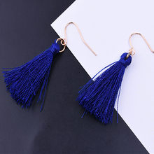 New Best Lady Bohemian Beaded Tassel Earrings For Women Unique Design Wedding Jewelry Handmade Colorful Fringed Drop/Earrings(China)