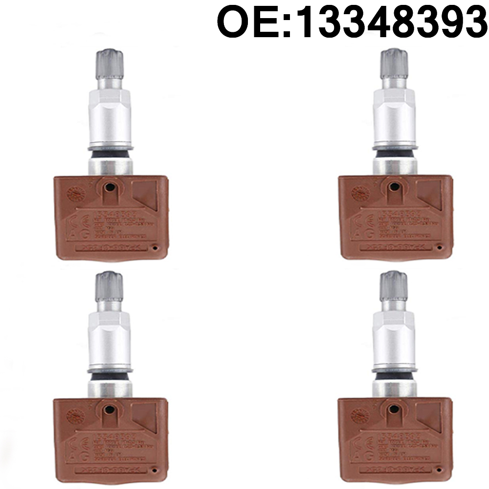 4 pièces Capteur De Pression DES Pneus TPMS 433 MHz Pour opel Astra Cascada Insignes Zafira Tourer